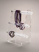 Load image into Gallery viewer, Three Tier Bangle, Bracelet or Watch Display Stand