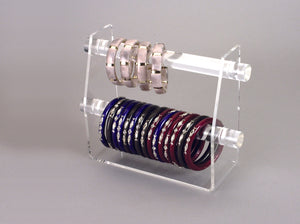 Two Tier Bangle, Bracelet or Watch Display Stand