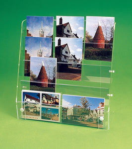 Four Tier Postcard Displayer