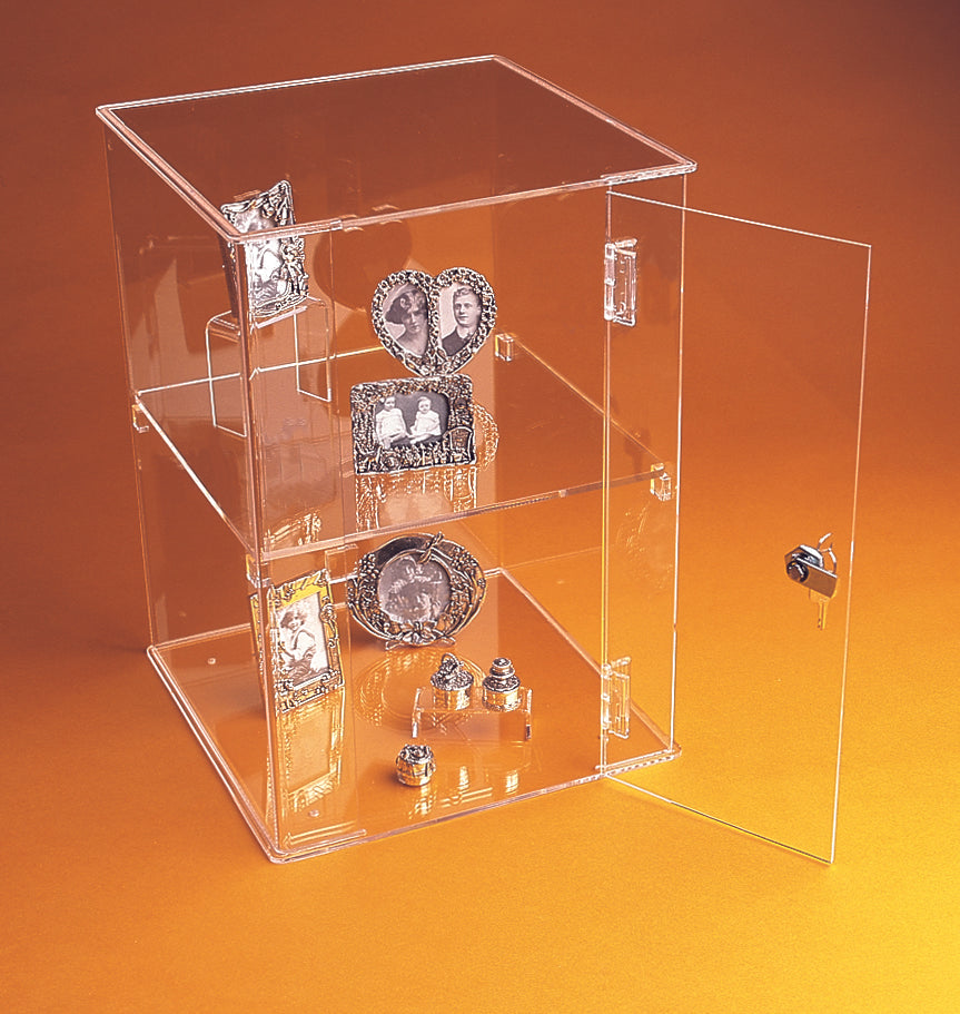 Lockable Acrylic Counter Showcase Display