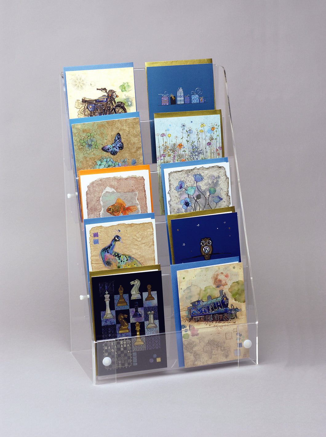Five Tier Postcard Displayer