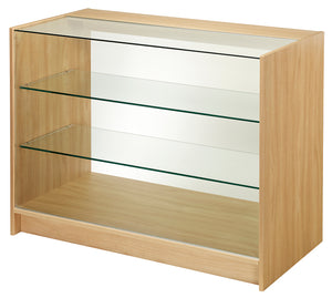 1200mm Wide Full Front Glass Display Counter