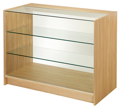 1800mm Wide Full Front Glass Display Counter