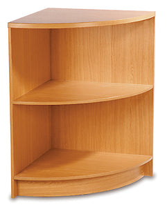 600mm Wide Open Curved Corner Unit