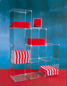 Acrylic Cube Displayer In Kit Form 30cm Squares