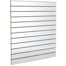Slatwall Or Slat Board Panel 240cm W x 120cm H