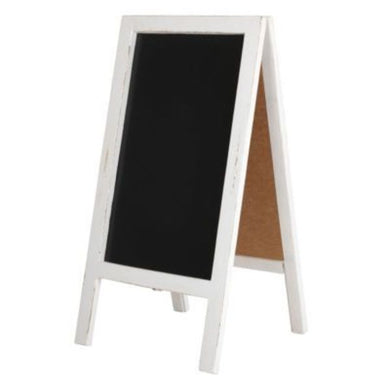 Indoor Wood A-Frame Chalk Board