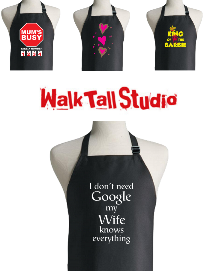 Walk Tall Aprons