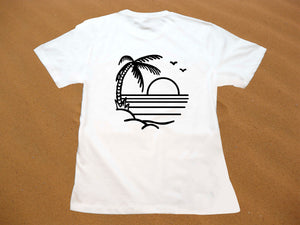 Sunset Paradise Beach Tee