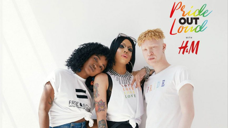 H&M launches its first ever collection dedicated to the LGBTQ+ community