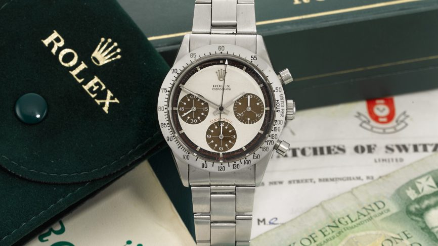 This 40-year-old Rolex watch is selling for nearly 4,00,000 Swiss Francs