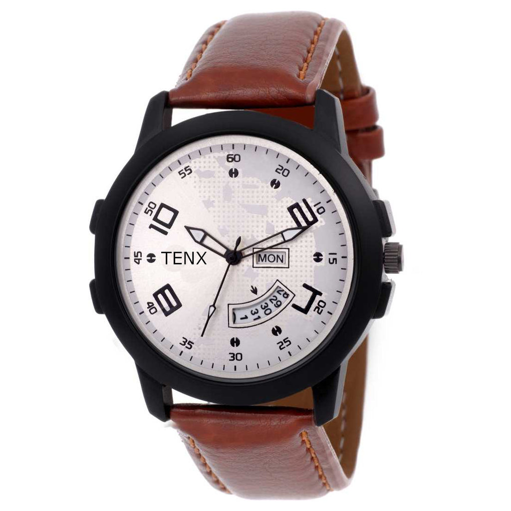 Tenx TM117 Day and Date Watch For Men