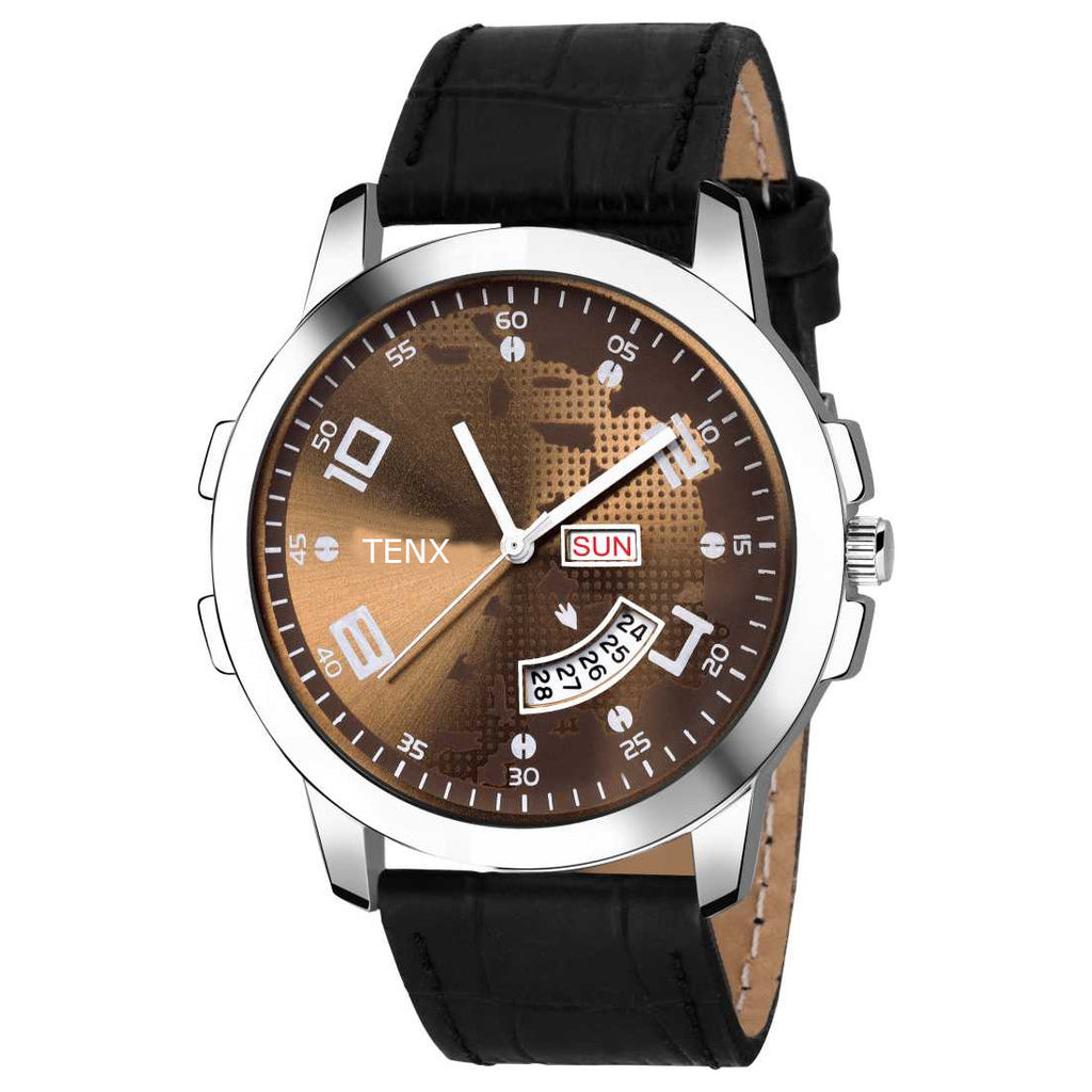 Tenx TM120 Day and Date Watch For Men