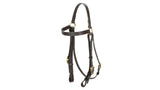 barcoo bridle brass brown