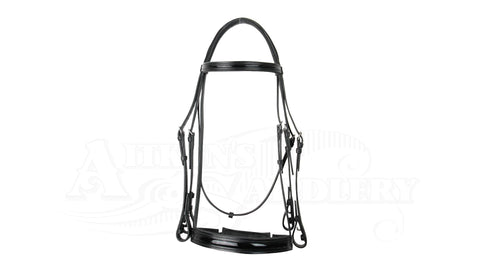 Jeffries Weymouth Inlaid Bridle