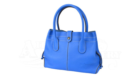 Luc Childeric Handbag pale blue