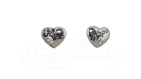 Montana Heart Hope Ear Rings