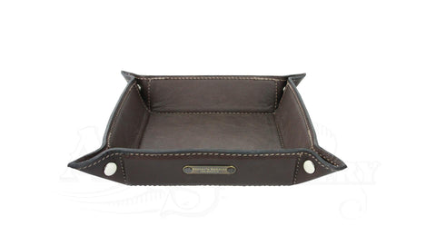 Leather Utility Tray coin