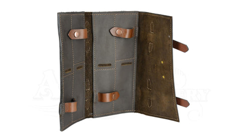 Porter Leather Steak Knife Pouch