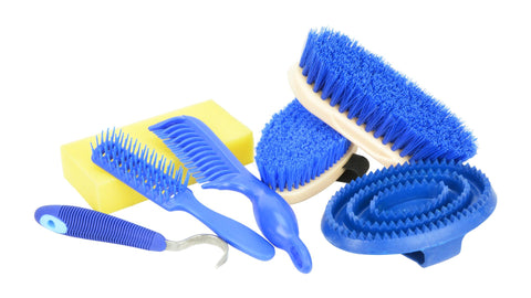 Showcraft Backpack Grooming Kit blue