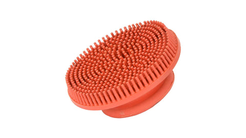 Rubber Curry Comb red