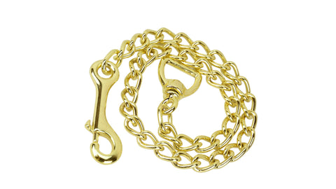 lead chain gold