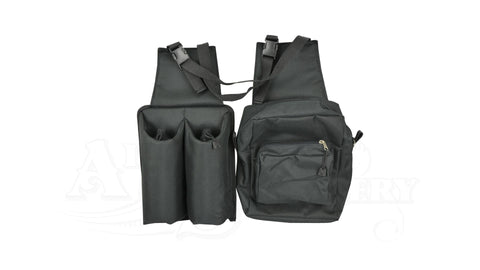 Saddle bag with water bottles