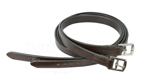Stirrup Leathers with Half Hole