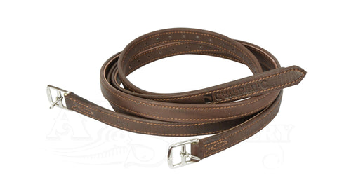 Luc Childeric Stirrup Leathers brown