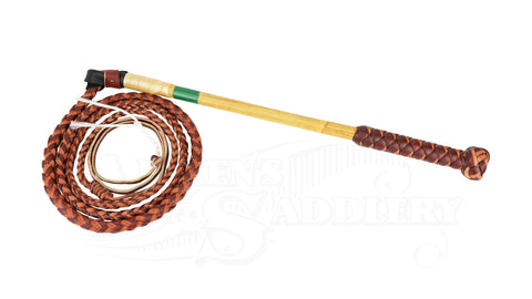 Stock Whip Redhide