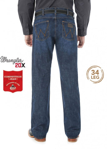 Wrangler Mens 20X Competition Vintage Boot Jeans