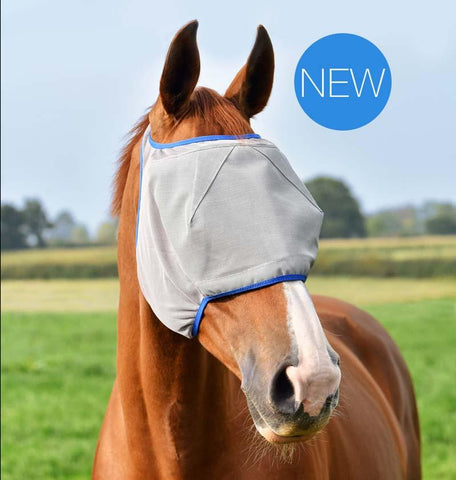 Equilibrium Fly Mask Midi No Ears Grey