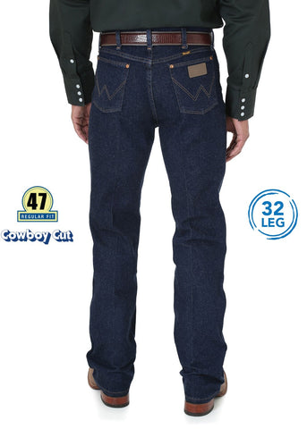Wrangler Cowboy Cut Stretch Denim Mens Jeans