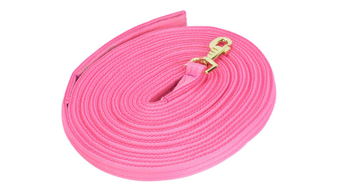 Lunge Rein in Carry Bag pink