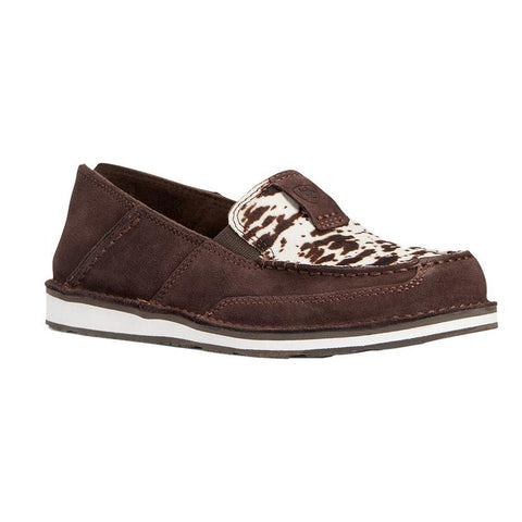 Ariat Cruiser Chocolate Chip Suede Spotted Shoes