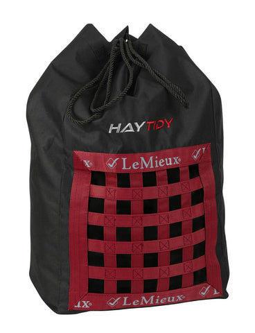 LeMieux Show Kit Hay Tidy Bag Black
