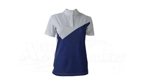 Samshield Appoline Riding Shirt White & Blue