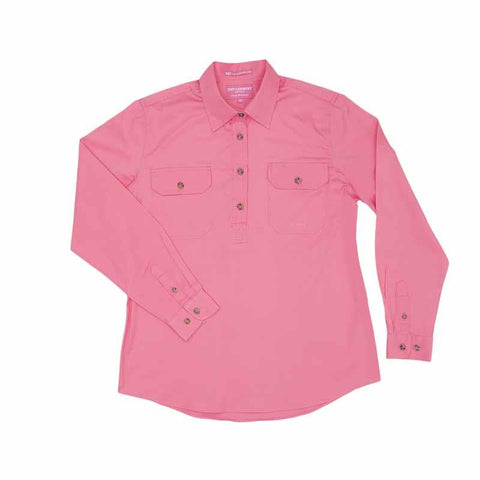 JCA Jahna Ladies Workshirt Rose