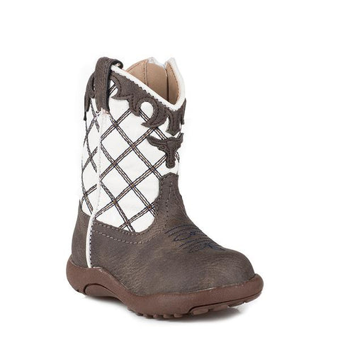 Roper Infant Cowbaby Brown Boots