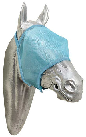 Fly Mask PVC Mesh Blue