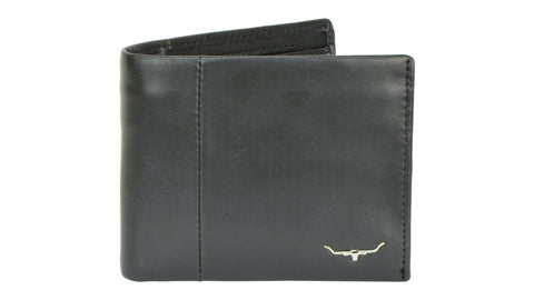 RM Williams Wallet with a Coin Pocket black