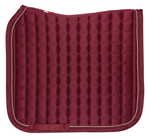 Estate Dressage Saddlecloth Claret