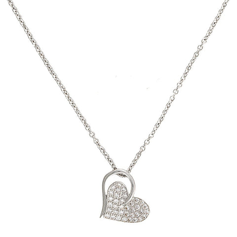 Montana Heart Print Necklace