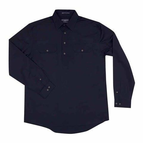 JCA Cameron Mens Workshirt Navy