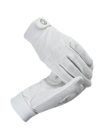Track Gloves White