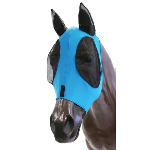 Kool Master Lycra Pull On Fly Mask Turquoise