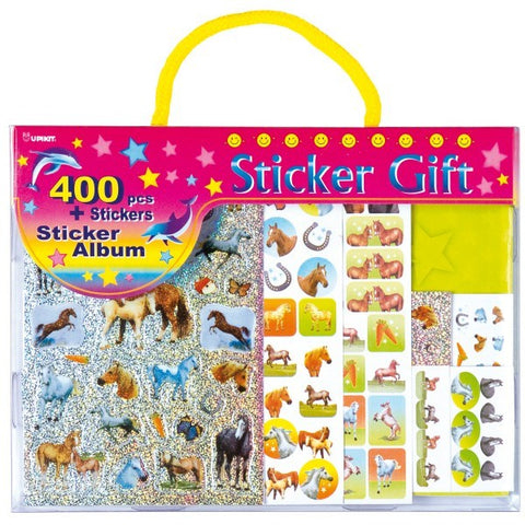 Horse Sticker Album