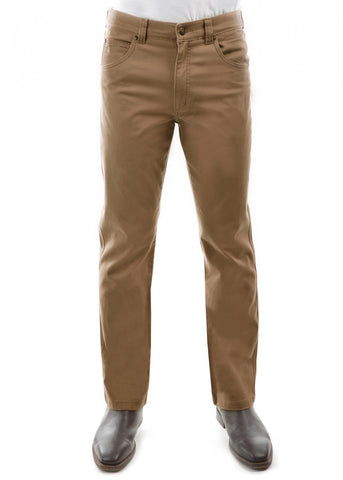 Thomas Cook Mens Tailored Moleskin Mens Jeans  Camel