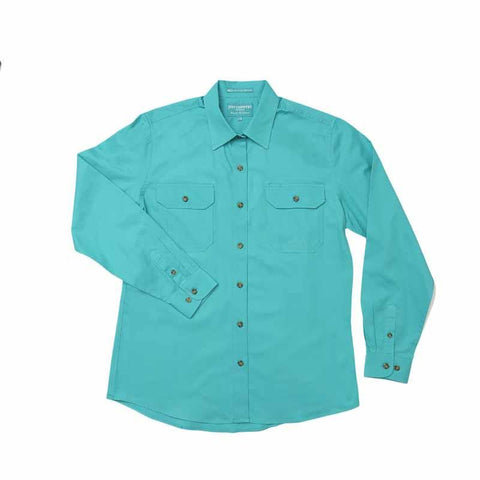 JCA Brooke Workshirt Ladies Turquoise