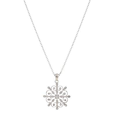 Montana A Perfect Snowflake Necklace